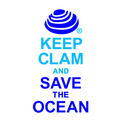 NEW KEEP CALM T-SHIRTS: SAVE THE OCEANS.